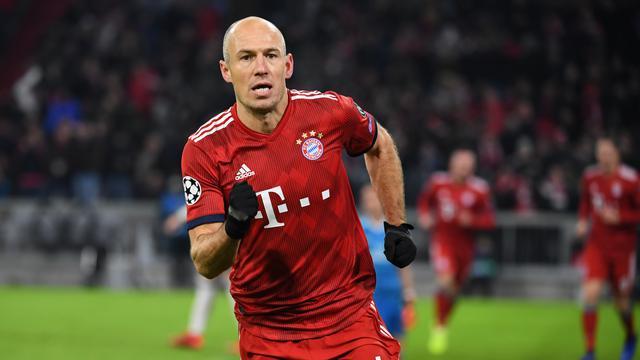 Robben membuat comeback setelah lima bulan cedera